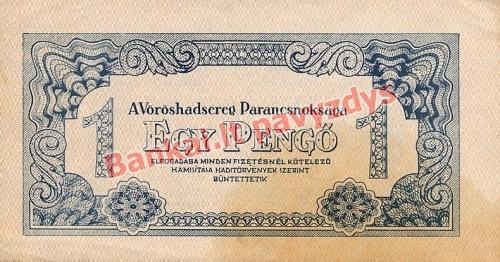 1 Pengo banknoto priekinė pusė