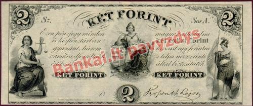 2 Forintų banknoto priekinė pusė