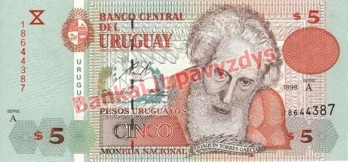 50 Pesų banknoto priekinė pusė