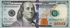 100 Dolerių