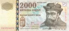 2000 Forintų
