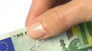 Perbraukite per banknoto viršų