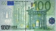 100 eurų apsauginis siūlelis