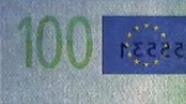 100 eurų sutapimo ženklas