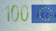 100 eurų sutapimo ženklas pasikeitęs
