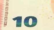 10 eurų smaragdo spalvos skaičius pasikeitęs