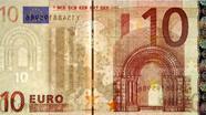 10 eurų apsauginis siūlelis