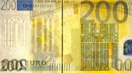 200 eurų apsauginis siūlelis