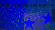 200 eurų ultravioletinis parašas