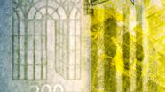 200 eurų vandens ženklas iš arti