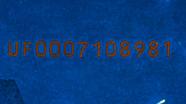 20 eurų ultravioletinis banknoto vaizdas kita pusė Nr. 2
