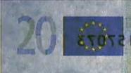 20 eurų sutapimo ženklas