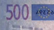 500 eurų sutapimo ženklas pasikeitęs