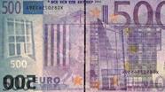 500 eurų vandens ženklas