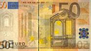 50 eurų apsauginis siūlelis