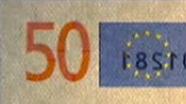50 eurų sutapimo ženklas