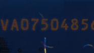Ultravioletinės ypatybės kitos pusės 5 EUR Nr.2