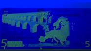 Ultravioletinės ypatybės 5 EUR Nr. 2
