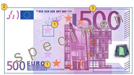 Papildomi apsaugos požymiai 500 eurų