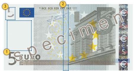 Senieji 5 eurų banknotai. Pažvelkite.