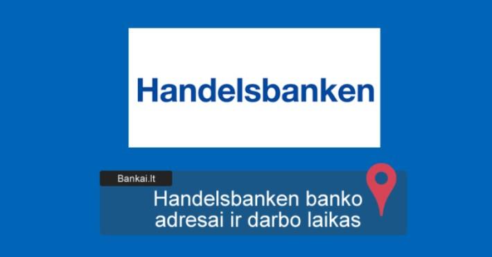 valiutos prekybos handelsbanken