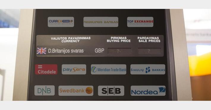 tradebank mainų sistema