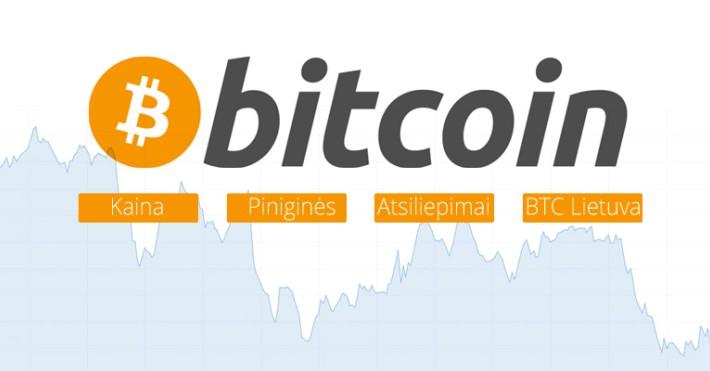 vieno bitcoin kaina šiandien