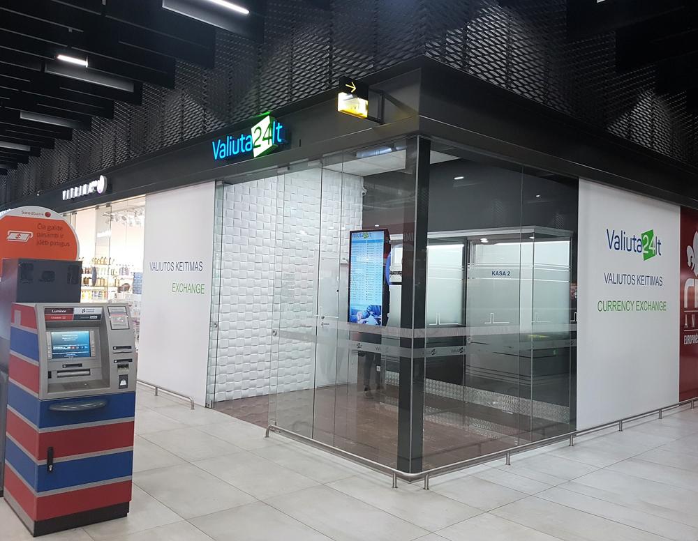Valiuta24.lt valiutos keitykla Kauno autobusų stotyje