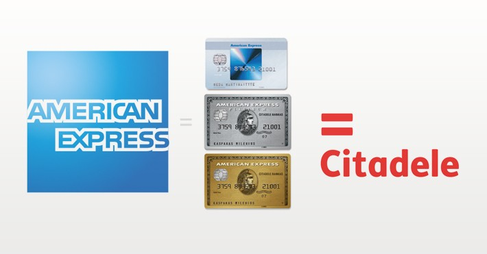 American express Citadele banke