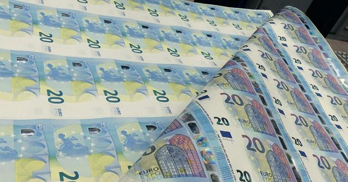 Naujieji 20 eurų banknotai