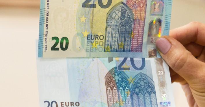 Naujieji 20 EUR banknotai