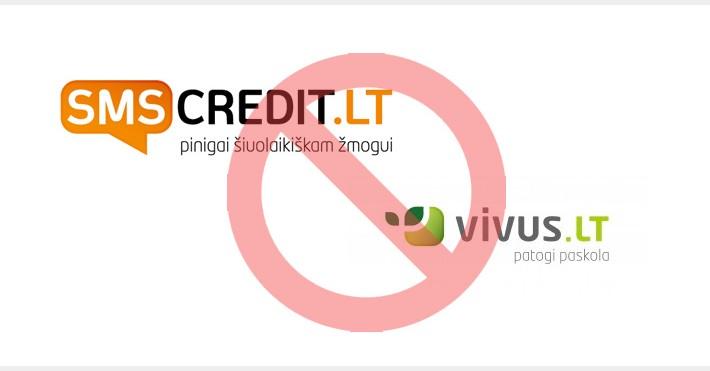 Vivus ir SMS Credit