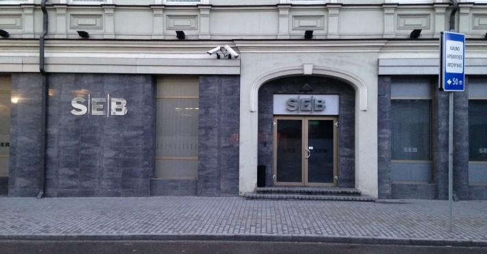 SEB banko paskola