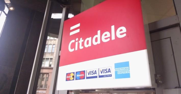 Citadele kortelės