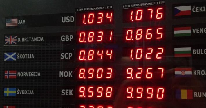 Bankai.lt valiutų kursai