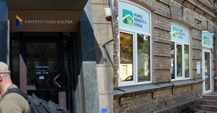 """Namų ir """"Baltijos"""" kredito unijos"""
