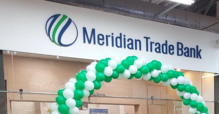 Meridian Trade bank indėliai