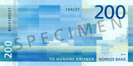 200 Norvegijos kronos