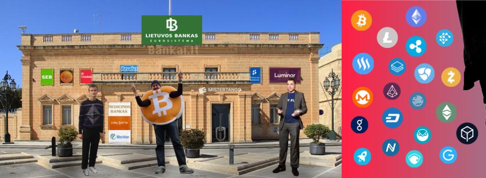 Kriptovaliutos Lietuvoje