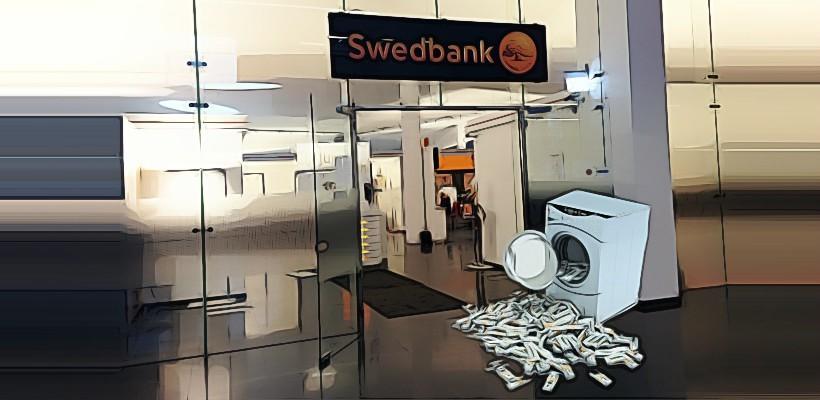 Swedbank įspėtas dėl pinigų plovimo