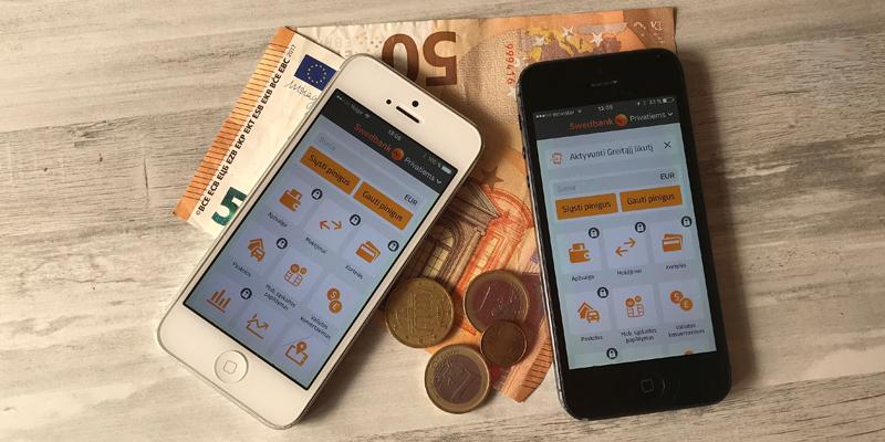 Swedbank mobilioji piniginė