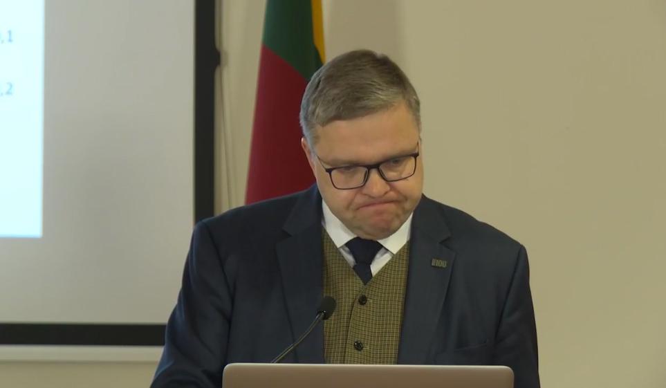 Vitas Vasiliauskas, LB valdybos pirmininkas
