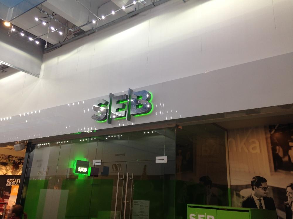 SEB bankas uždirbo 23,4 mln. eurų neaudituoto grynojo pelno