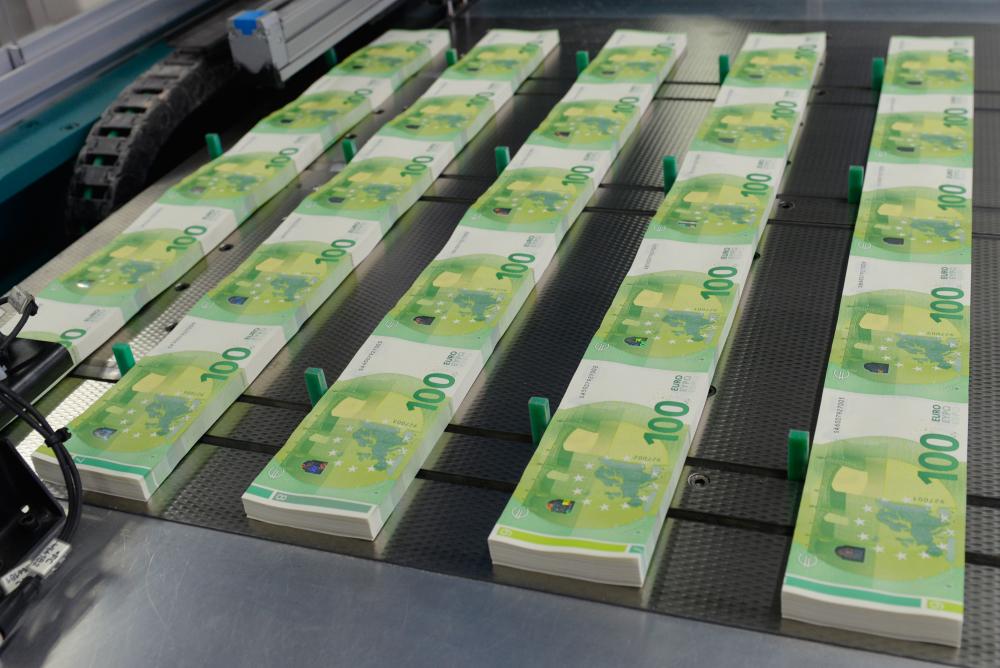 Supakuoti eurai