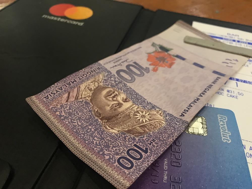 Malaizijos ringitai, mokėjimo kortelė