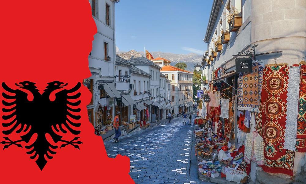 Albanija ir valiutos keitimas