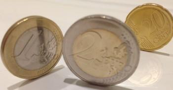 Euro monetos mini
