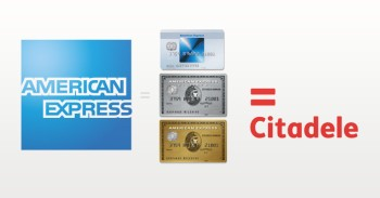 American express Citadele banke mini