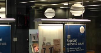 Danske bankas indėliai mini