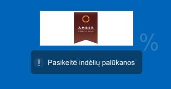 kredito unija Amber, indėliai mini